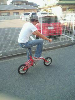 乗りにくい自転車